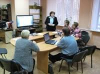Обучение компьютерной грамотности граждан пожилого возраста.