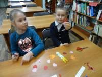Творческие занятия в библиотеке